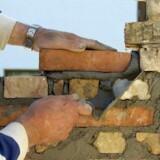 Der er over 19.000 murere i den arbejdsdygtige alder i Danmark.