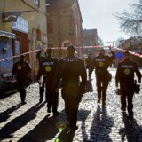 Politi på Christiania i stor razzia. Andre gange ransager politiet i al hemmelighed.