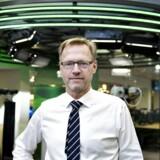 Anders Dam, direktør Jyske Bank , fotograferet i hovedkvarteret i Silkeborg.