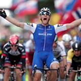Kittel vinder massespurt på 2. etape af Tour de France