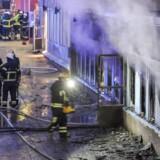 ARKIVFOTO. Påsat brand i moske i Eskilstuna.