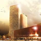 Malmö Live ligger få minutters gang fra Malmøs hovedbanegård. Projektet er skudt op på tre år og har ikke været ramt af overskridelser. Det højeste af de tre tårne er et hotel på hele 85 meter og med skøn udsigt over både byen og broen til Danmark. Koncertsalen er det lave byggeri ud mod vejen. Den bliver ny arbejdsplads for Malmö Symfoniorkester og skal stå klar til indvielsen sidst i august.