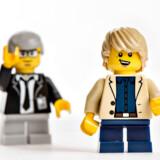Modelfoto af LEGO-figur.