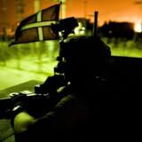 Arkivfoto fra 2007 af danske soldater i Irak.