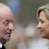 Selv om gårsdagens sigtelse for skattesvig og hvidvaskning af penge næppe resulterer i en egentlig retssag for Spaniens prinsesse Cristina, knager tronen ikke mindre faretruende under hendes skandalesvækkede far, kong Juan Carlos. Foto: Reuters & AFP