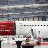 Arkivfoto: Norwegian fly Dreamliner i Københavns Lufthavn.