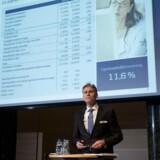 Danske Bank fremlægger årsregnskab i Kuppelsalen 2. februar 2016.