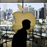 Apple har betalt for lidt skat i Kina. Nu slår de kinesiske skattemyndigheder hårdt ned på udenlandske selskaber. Arkivfoto: Isaac Lawrence, AFP/Scanpix