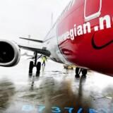 Arkivfoto. Det norske luftfartsselskab Nowegian har måttet aflyse en stribe flyvninger på grund af mangel på personale, og selskabet kan ikke love, at flere afgange ikke også bliver afblæst.