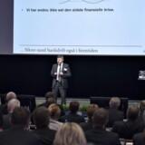 Finanstilsynets direktør, Jesper Berg, holdt torsdag tale i forbindelse med Lokale Pengeinstitutters årsmøde i Aalborg Kongres & Kultur Center.