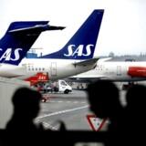 Arkivfoto. Torsdag fortæller SAS, hvordan man fremover vil øge flytrafikken til og fra Aarhus Lufthavn.