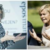 Stine Bosse og Mette Bock er et godt stykke fra at være enige, når det kommer til måltal for kvinder i virksomhedsbestyrelser.