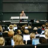 ARKIVFOTO. Forelæsning, Københavns Universitet Amager.