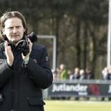 Sportschef Hans Jørgen Haysen har kigget mod Holland for at finde erstatningen for Mikael Uhre. Scanpix/Henning Bagger