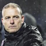 FC Midtjyllands træner Jess Thorup.