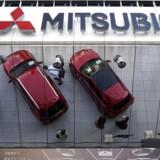 Den japanske kæmpekoncern Mitsubishi Motors Corp siger, at der er blevet snydt med måling af bilproducentens køretøjer i 25 år. Arkivfoto.