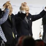 Klimaaftalen, som blev indgået i Paris ved COP21, vækker stor glæde hos Vestas.