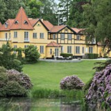 Lene Nystrøm og Søren Rasted har i knap et år haft deres gigantiske palæ i Birkerød sat til salg