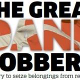 Danmark har fået tæsk i de internationale medier. Her dagens forside fra den britiske version af Metro.