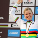 Amalie Dideriksen vandt VM i cykling i Doha i 2016, og nu skal hun ud og forsvare titlen i Bergen.
