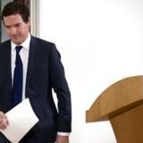 Den britiske finansminister George Osborne forsøgte mandag morgen at tale de europæiske finansmarkeder til ro.