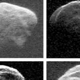 En asteroide vil om en uge passere relativt tæt forbi Jorden, oplyser den amerikanske rumfartsorganisation Nasa på sin hjemmeside. (Arkivfoto)