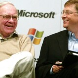 Bill Gates og Warren Buffett. Arkivfoto.