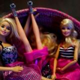 Barbie dukker fra det amerikanske legetøjsmærke Mattel.
