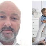 Til venstre: Formanden for Foreningen Far, Jesper Lohse, til højre: modelfoto fra Iris.