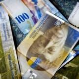 Schweizerfrancens valutahop i januar kan ende med at koste Saxo Bank op mod 700 mio. kr.