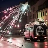 Ungdomshuset i København afholder onsdag den 1. marts 2017 en demonstration, der bevæger sig fra Vor Frue Plads mod Nørrebro i anledning af 10-året for rydningen af Ungdomshuset på Jagtvej 69. Den 1. marts 2007 kl. ca. 7.00 påbegyndte Københavns Politi en rydning af Ungdomshuset.De følgende dage var præget af uroligheder og ødelæggelser, hvor over 714 personer blev anholdt. Den 5. marts ved 8-tiden om morgenen begyndte nedrivningen af huset, der varede indtil den 6. marts ved 23-tiden. I dag står grunden Jagtvej 69 tom, men der er planer om at bygge et nat-herberg for hjemløse på stedet.