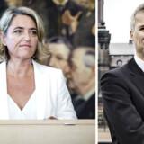 Pernille Schnoor underskrev den 3. juli som nyt folketingsmedlem Grundloven.