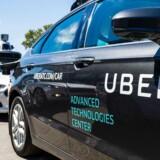 Uber vil lade deres chauffører tilmelde sig Skat med en knap i deres app.