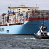 Verdens største containerskib.