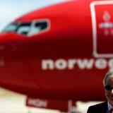 Bjorn Kjos, CEO for Norwegian Group.