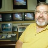 TV-journalist Piet van Deurs. NORDFOTO 1996