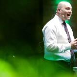 Søren Pape Poulsen på talerstolen ved landsrådetr
