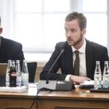 Miljø -og fødevareminister Esben Lunde Larsen (V) var kaldt i samråd om landbrugspakken, onsdag den 29. november, 2017 på Christiansborg slot i København. (Foto: Sarah Christine Nørgaard/Scanpix 2017)