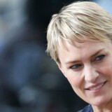 """Arkivfoto. Robin Wright, der spiller en moderne Lady Macbeth i Netflix-serien """"House of Cards"""", mener, at USAs øverste embede har brug for en kvindes måde at tænke på."""