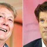 TV: Åge Hareide. TH: Michael Laudrup.