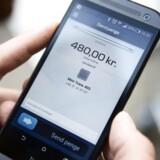 Mobilbetalinger dækket af Dankort - såsom MobilePay og Swipp - steg med ikke mindre end 133 procent til 2,1 milliarder kroner.