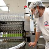 Premier Is i Thisted. Mejerigaarden A/S. Produktion af is og ispinde.