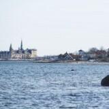 Arkivfoto: M/S Viking har kun sejlet turister og andre gæster rundt for at se Kronborg fra søsiden i 14 dage. Træskibet sejler ruten seks gange dagligt hen over sommersæsonen og har plads til 30 personer om bord.