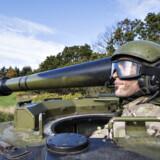 Forsvaret har kun en håndfuld fungerende haubitser tilbage, som kun kan bruges til uddannelsesformål. Foto: Henning Bagger