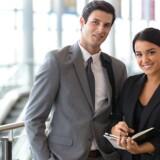 Skal Mette eller Peter have jobbet? Virksomhederne er igen begyndt at ansætte nye medarbejdere i stakkevis, men alt for ofte finder virksomhederne ikke den rigtige kandidat, og vedkommende forsvinder hurtigt igen. Fejlansættelser kan hurtigt koste virksomhederne en halv årsløn. Foto: Iris.