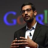 Googles adm. direktør Sundar Pichai må nu håndtere konkurrenceanklager fra hjemlandet Indien. Arkivfoto.