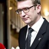 Tidligere skatteminister for Venstre Troels Lund Poulsen. Arkivfoto: Torkil Adsersen