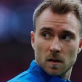 Christian Eriksen og Tottenham slog søndag Crystal Palace 1-0 i Premier League. Reuters/Andrew Couldridge