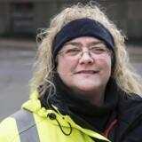 Lea Jørgensen er parkeringsvagt gennem tyve år i Københavns kommune.