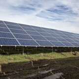 Solcelleanlæg.
